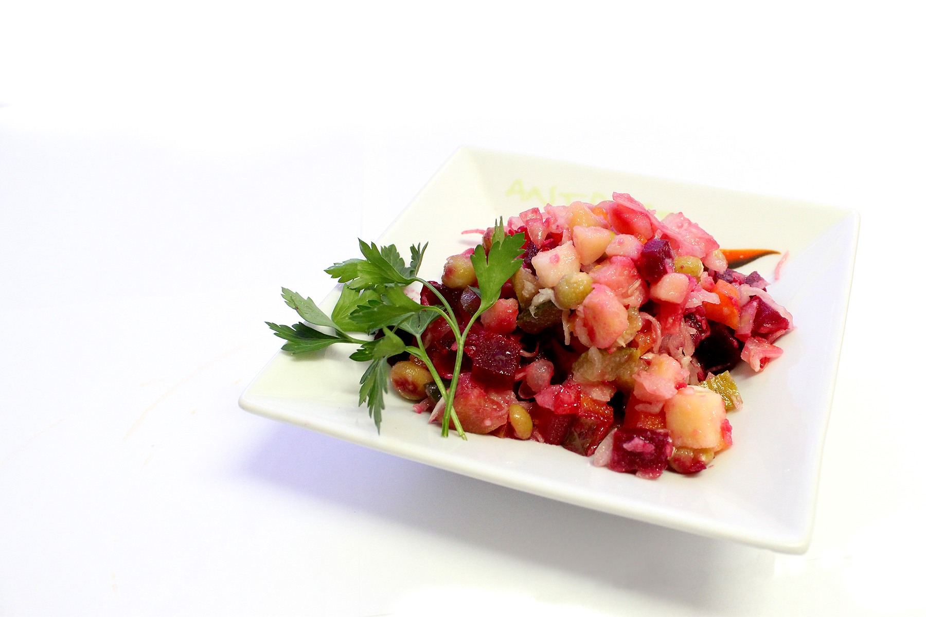 Как сделать винегрет салат из свежей капусты